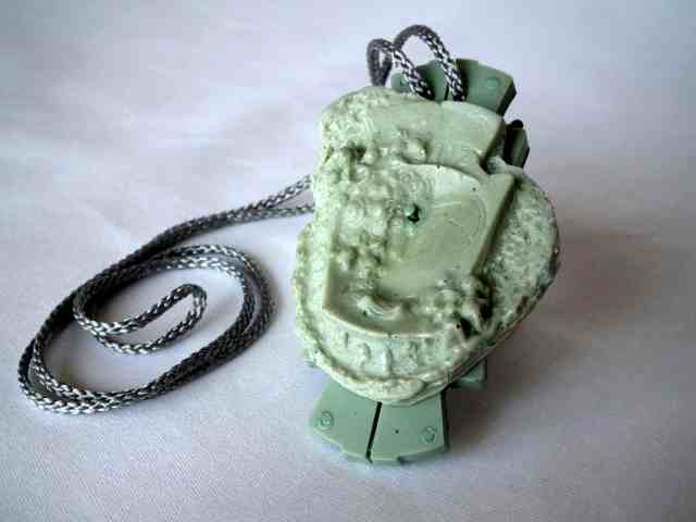 green pendant small